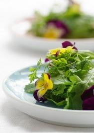flower salad