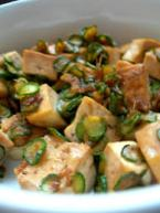 tofu e zucchine