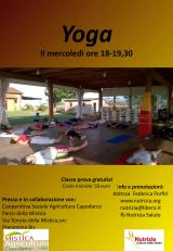 Yoga e Shiatsu al Parco dellaMistica