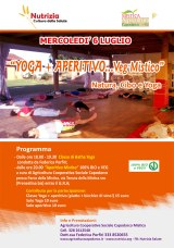 Yoga + Aperitivo…VegMistico!