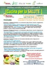 Seminari tematici di approfondimento di cucina per la Salute 100% Bio eVeg