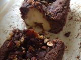 Plum cake nocciole, cioccolato, pere ecannella