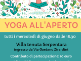 Yoga all'aperto alla Villa TenutaSerpentara
